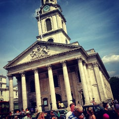 Photo taken at St Martin-in-the-Fields by Simon S. on 7/13/2013
