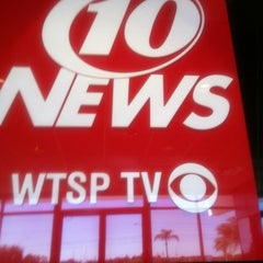 Photo taken at WTSP Channel 10 by Bobbie K. on 2/14/2014
