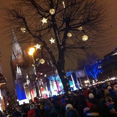 Photo taken at Stortorget by Benny A. on 12/8/2013
