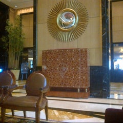 "Photo taken at TABLE8 - Hotel Mulia Senayan, Jakarta by ""Ty_4 3. on 11/7/2012"
