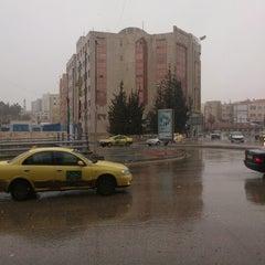 Photo taken at Waha Circle | دوار الواحة by Robert L. on 1/31/2013