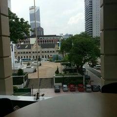 Photo taken at Perpustakaan Kuala Lumpur (Library) by Fatin A. on 5/7/2015
