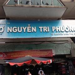 Photo taken at Nguyen Tri Phuong Market by Hiroto O. on 12/29/2013