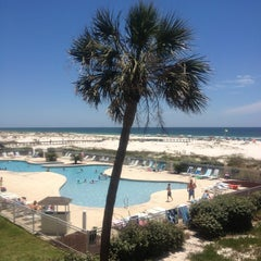 Photo taken at Gulf Shores Plantation Beaches by Maurice P. on 5/25/2013