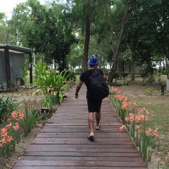 Photo taken at Costa Lanta Resort Koh Lanta by María R. on 4/15/2015