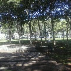 Photo taken at Praça da Paz by Tommaso D. on 4/16/2013