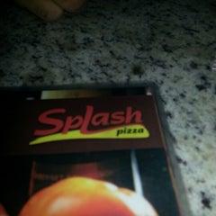 Photo taken at Splash Pizza by Diane C. on 12/11/2012