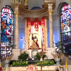 Photo taken at Minor Basilica of the Black Nazarene (Quiapo Church) by Joan Abigail B. on 2/23/2013