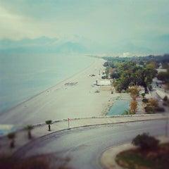 Photo taken at Beach Park by Çağlar T. on 11/17/2012