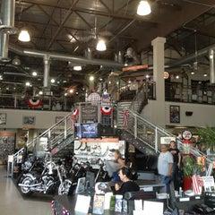 Photo taken at Orange County Harley-Davidson by Alex C. on 7/4/2013