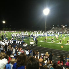Photo taken at Barron Collier High School by James B. on 9/29/2012