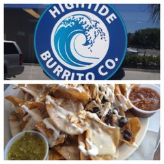 Photo taken at Hightide Burrito Co. by Carlos G. on 5/13/2013
