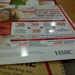 Photo taken at HSBC Bank by deevirtue on 6/18/2014