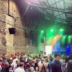 Photo taken at Village Underground by Jun S. on 5/1/2013