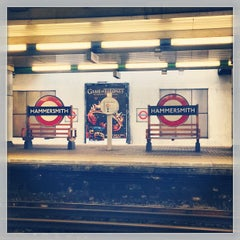 Photo taken at Hammersmith London Underground Station (District and Piccadilly lines) by Ghida A. on 3/2/2013