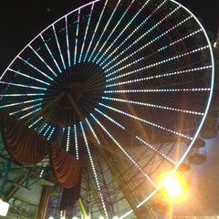 Photo taken at Beirut Luna Park by Myriana R. on 7/18/2013