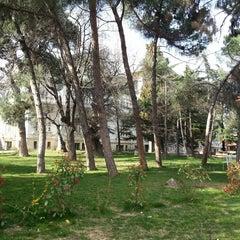 Photo taken at Çamlıca Kız Anadolu Lisesi by Ümit K. on 3/13/2013