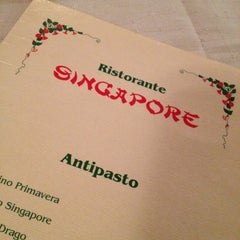 Photo taken at Ristorante Singapore by Michela R. on 1/12/2013