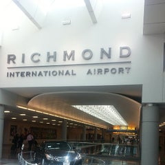Photo taken at Richmond International Airport (RIC) by akaCarioca on 5/10/2013