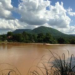 Photo taken at น้ำตกปอย by Chitsanuphong p. on 6/9/2013