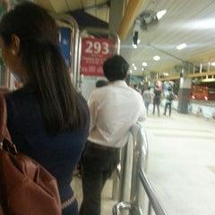 Photo taken at Tampines Bus Interchange by Ivy T. on 3/25/2013