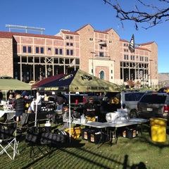 Photo taken at Franklin Field. GO BUFFS by Matt D. on 11/23/2012