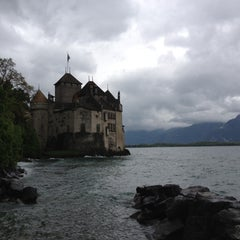 Photo taken at Château de Chillon by Irisha I. on 5/12/2013