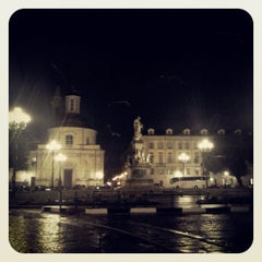 Photo taken at Piazza Carlina by Elena T. on 7/13/2013
