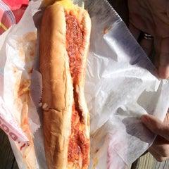 Photo taken at Eddie's Footlong Hotdogs by Mike J W. on 9/15/2012