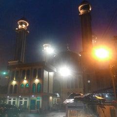 Photo taken at Masjid Agung AL-BARKAH Bekasi ® by Muhammad F. on 2/3/2014