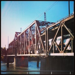 Photo taken at I Street Bridge by Andrey K. on 9/9/2013