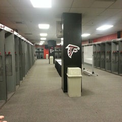 Photo taken at Atlanta Falcons Owners Club by chad g. on 10/26/2012
