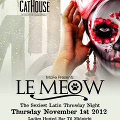 Photo taken at CatHouse Boutique Nightclub / Doohan's Bar & Lounge by Michael A. on 10/30/2012