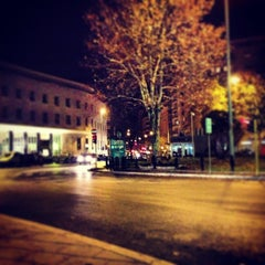 Photo taken at Piazza Bologna by Francesco L. on 1/11/2013