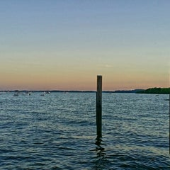 Photo taken at Concord Point and Lighthouse by Kristyn M. on 7/6/2014