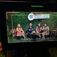 Photo taken at TV Azteca Noreste by JOn P. on 6/20/2015