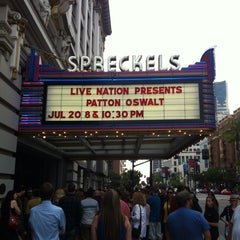 Photo taken at Spreckels Theatre by Chevy K. on 7/21/2013