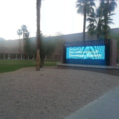 Photo taken at Palm Springs Convention Center by Jefferson A. on 3/27/2013