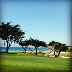 Photo taken at Pebble Beach Golf Links by Abby B. on 4/23/2013