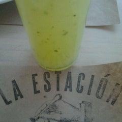 Photo taken at La Estacion (Comedor) by Cecilia Y. on 10/18/2012