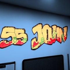 Photo taken at 55 John Street by Mike C. on 6/12/2013
