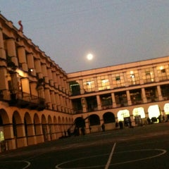 Photo taken at Colegio Salesiano Santa Julia by Andrea U. on 1/28/2013