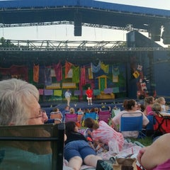Photo taken at Shawnee Mission Theater In The Park by Shannon F. on 6/6/2015