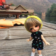 Photo taken at The River Kwai Jungle Rafts by TiKKiE T. on 3/5/2016