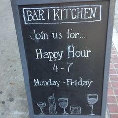 Photo taken at Bar | Kitchen by Joe P. on 1/17/2013