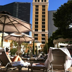 Photo taken at The Pool At Bellagio by Gabriel M. on 7/10/2013