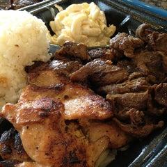 Photo taken at Ono Hawaiian BBQ by Freddy Q. on 12/26/2012