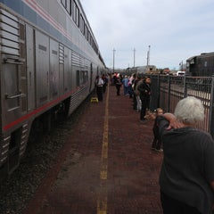 Photo taken at Temple Amtrak Station by Richard B. on 3/1/2013