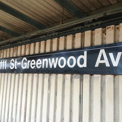 Photo taken at MTA Subway - 111th St/Greenwood Ave (A) by Craig B. on 6/28/2013