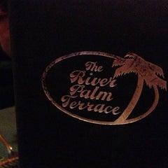 Photo taken at River Palm Terrace by David B. on 10/6/2012